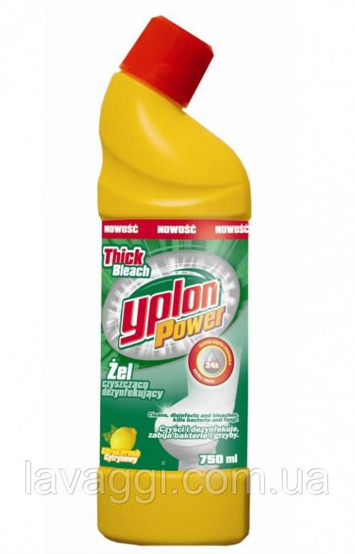 Засіб для чищення унітазу  Yplon WC Gel Citrus 1L