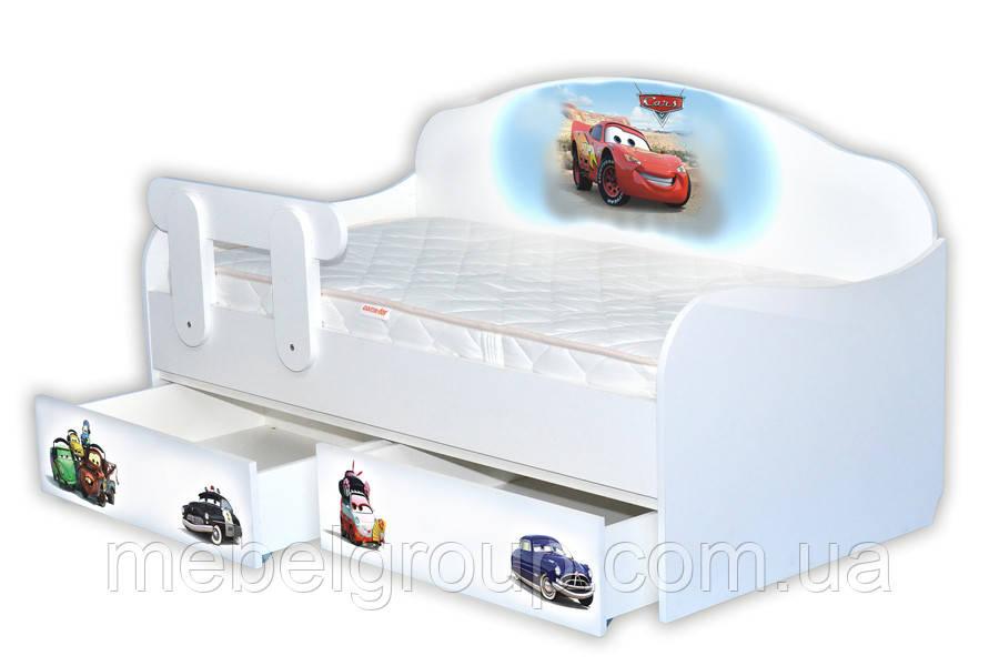 Кровать диванчик Тачки 1