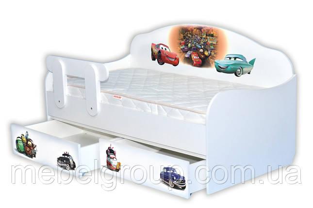 Ліжко диванчик Тачки 3, фото 2