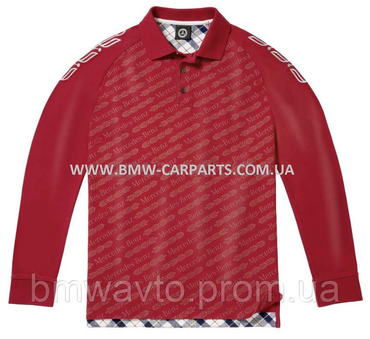 Мужская рубашка-поло Mercedes-Benz Men's Polo Shirt, фото 2