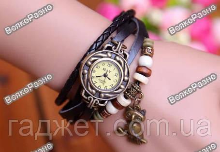 Женские наручные часы браслет черного цвета. Женские часы, фото 2