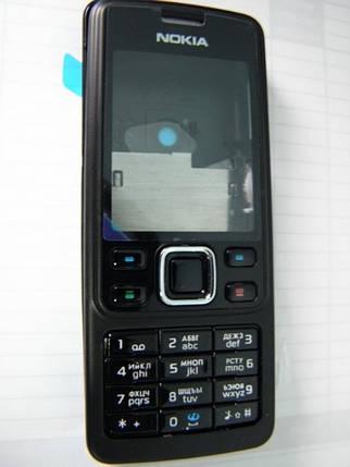Корпус Nokia 6300 чёрный c клавиатурой class AAA, фото 2