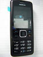 Корпус Nokia 6300 чёрный c клавиатурой class AAA
