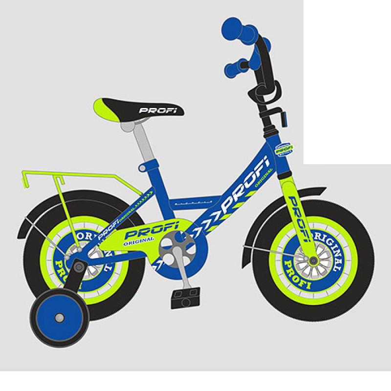 Детский двухколесный велосипед PROFI 16 дюймов для мальчика Original boy синий, Y1641