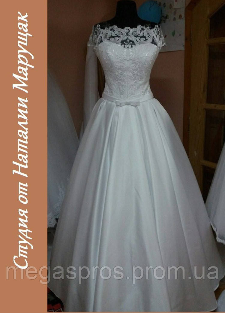 Пошить свадебное платье. Итальянское кружево 9a87696108288