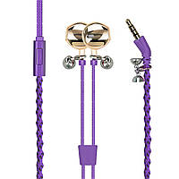 Наушники Promate Retro-2 Purple