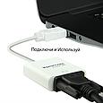Переходник Promate ProLink-H2V HDMI-VGA White, фото 2
