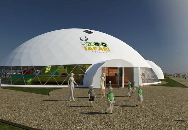 ЗооСафари - Мультимедийный центр в зоопарке на 1200 м2 26