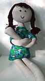 Мягкая игрушка ручной работы Длинноногая Кукла, фото 3