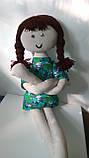 Мягкая игрушка ручной работы Длинноногая Кукла, фото 4