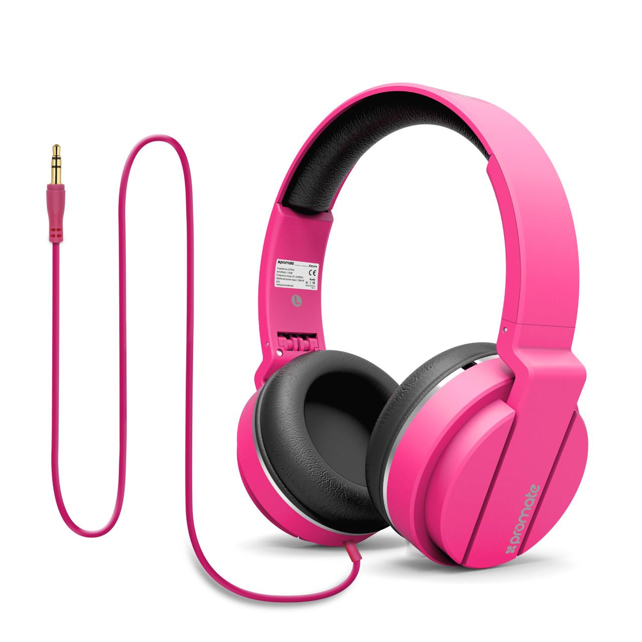 Портативные наушники Encore Pink