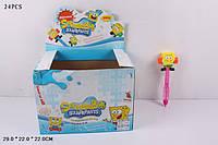 """Мыльные пузыри 111-2 """"Sponge Bob"""" с молоточком /12/288/"""
