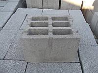 Блок бетонный стеновой СБ-ПР6