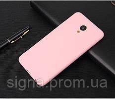 Чехол Бампер Style для Meizu M3 Max силиконовый розовый