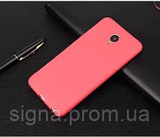 Чехол Бампер Style для Meizu M3 Max силиконовый красный