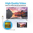 Кабель Promate linkMate-H3L micro HDMI - HDMI 3 м  White, фото 7