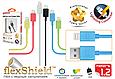 Кабель Promate linkMate-LT Lightning-USB 1.2 м Green, фото 2