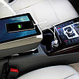 Автомобильное зарядное устройство Promate Ternion Silver, фото 4