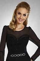 Женская блуза с прозрачными рукавами Chiara Eldar, коллекция осень-зима 2014-2015