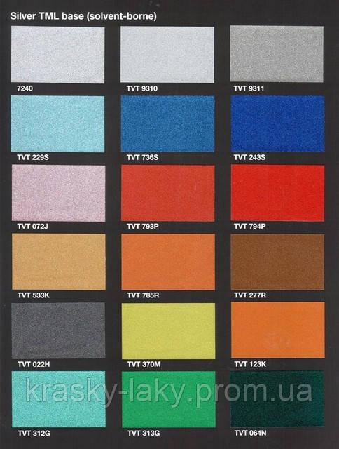 Краска металлик Tikkurila Темадур 50 TML с крупным зерном, 7.5л +1.5 отвердитель
