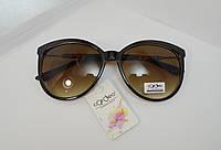 Очень стильные и модные   круглые коричневые очки