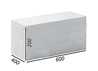 Газоблок Аeroc стеновой высший сорт 400х200х600 D-300\400\500