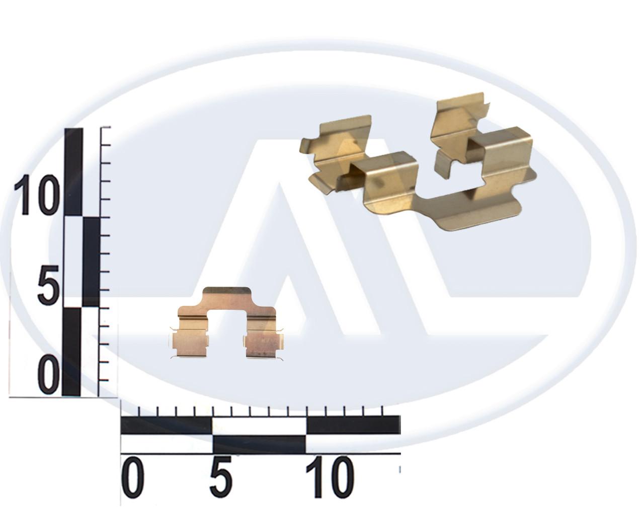 Пружина переднего суппорта A11-6GN3501054 Чери Амулет Chery Amulet