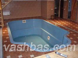 "Бассейн 5,0 x 3,0 x 1,7 2007 год отель ""Голубая лагуна"" пгт Беляевка"