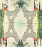 Рідкісна декупажна серветка Париж - місто кохання 3798, фото 2