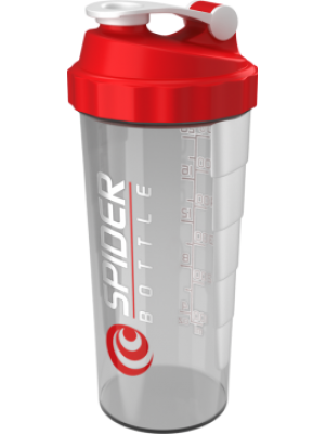 Шейкер Spider Bottle Maxi 800 мл (красный)