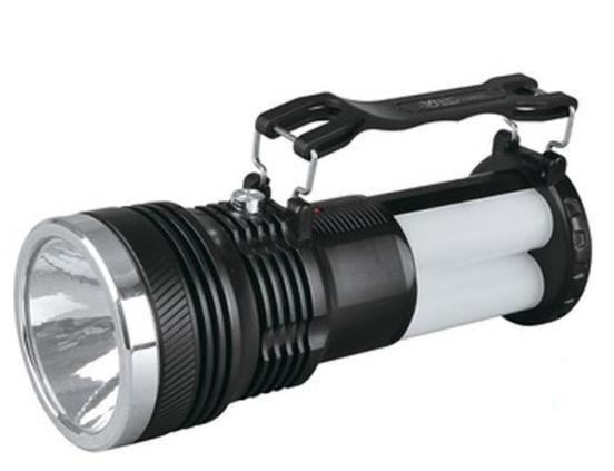 Светодиодный аккумуляторный фонарь SL-2881 3W черный Код.59095