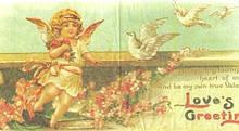 Коллекционная декупажная салфетка Ангелочек 3484