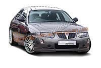 Накладка на передний бампер для Rover 75 1998-2005