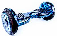 """Гироскутер / Гироборд Smart Balance Elite Lux 10,5"""" Синие Пламя +Cумка +Баланс (Гарантия 24 Месяца)"""