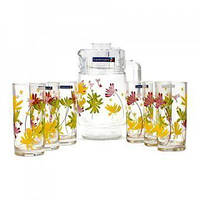 Комплект Luminarc CRAZY FLOWERS /7пр.д/напитков