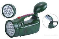 Cветодиодный аккумуляторный автомобильный фонарик Yajia YJ-2809 АКБ/220 В.