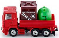 Грузовик с открытым кузовом для мусора, 8 см, Siku (828), фото 1