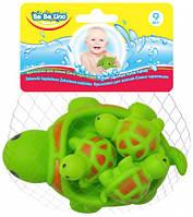 Брызгалки для ванной Семья черепашек, BeBeLino (58067), фото 1