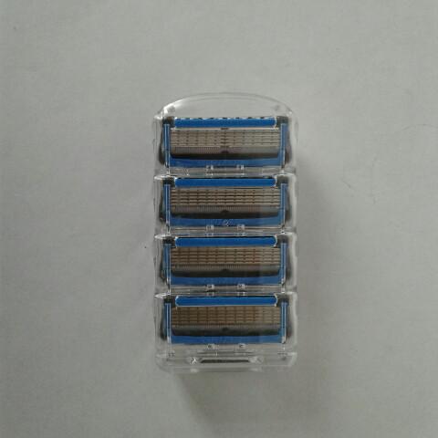 Кассеты Gillette Fusion Proshield 4 шт. ( Картриджи лезвия жиллетт Фюжин прошилд синие Оригинал )