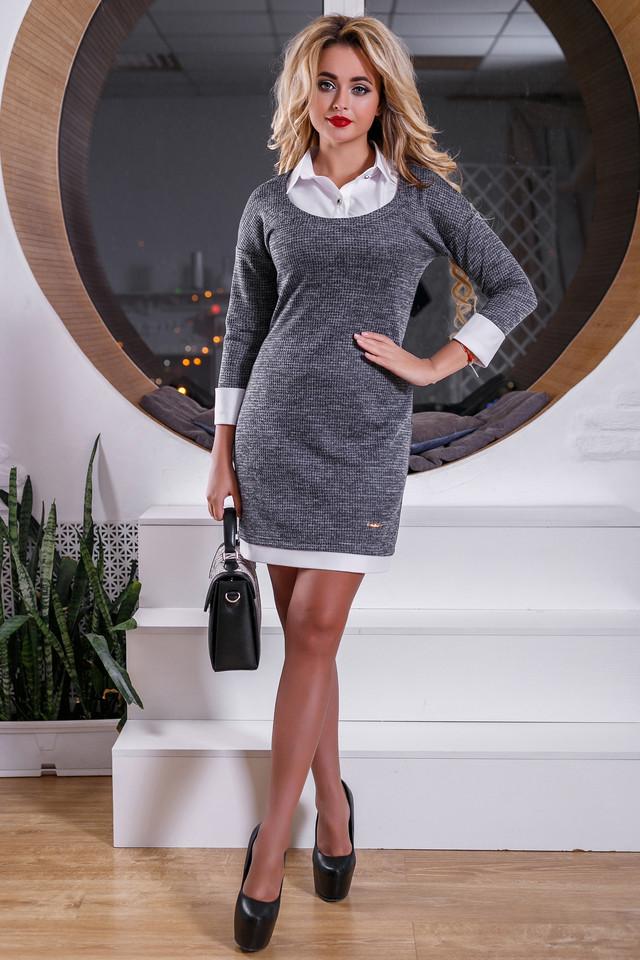 3a0dcd68bad С помощью этого платья Вы сможете создать сдержанный официально-деловой  образ