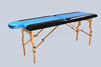 Стол массажный 2х секционный RELAX, массажная кушетка, фото 1