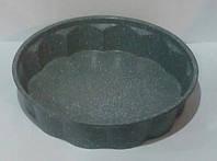Форма для выпечки Круг рифленный 28*6 см