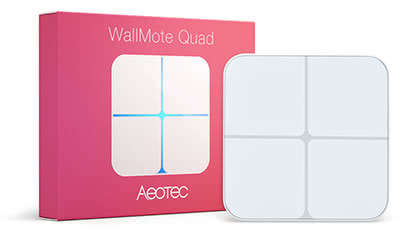 ZW130, Aeotec, WallMote Quad, Z-Wave