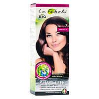 Крем-краска для волос био 50мл тон 5 La Fabelo Professional, фото 1