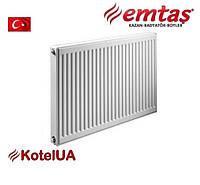 Стальной панельный радиатор Emtas тип 11 PK 500*1000 боковое подключение
