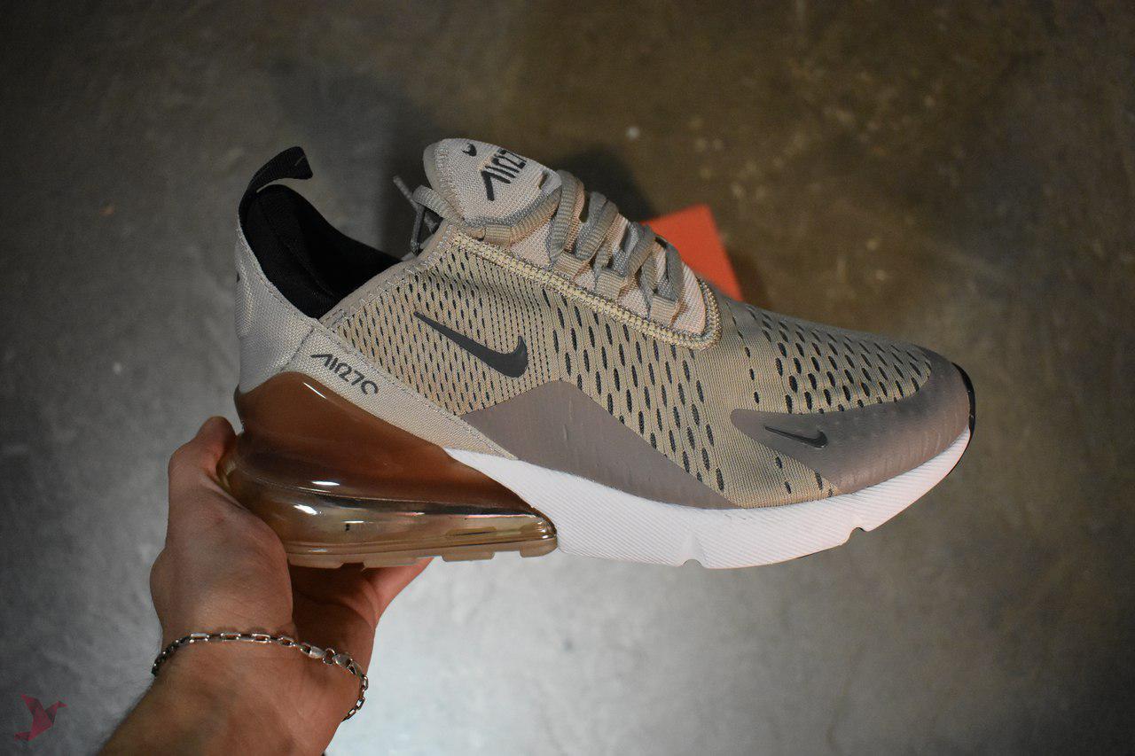 Мужские кроссовки Nike Air Max 270 Olive, Копия