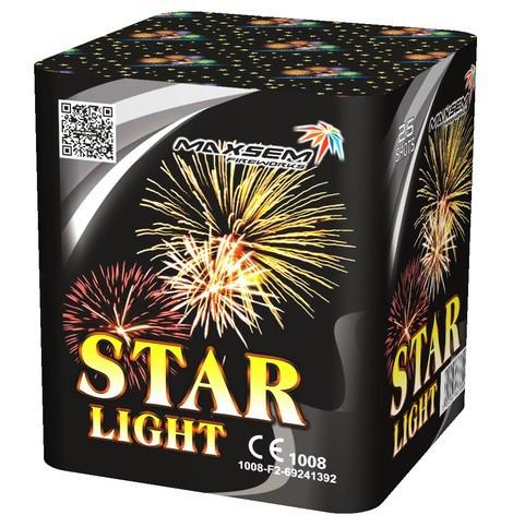 Фейерверк \ Салют STAR LIGHT Калибр 20мм \ 25 выстрелов GP467