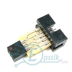 Переходник для AVR программаторов 10pin в 6pin
