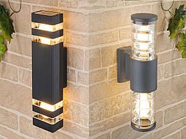 Монтаж и Подключение светильника на фасаде здания