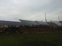 Сонячна електростанція 30кВт м.Снятин 1
